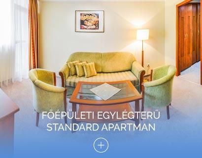 Főépületi egylégterű Standard apartman