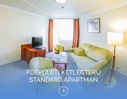 Főépületi kétlégterű Standard apartman