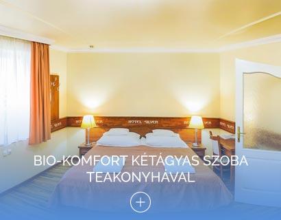 Bio-komfort kétágyas szoba teakonyhával