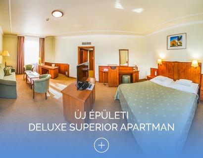 Új épületi Deluxe Superior apartman