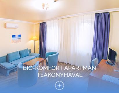 Bio-komfort apartman teakonyhával