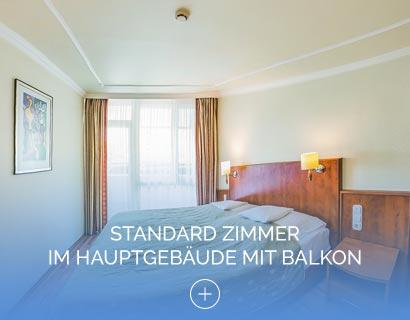 Standard Zimmer im Hauptgebäude mit Balkon