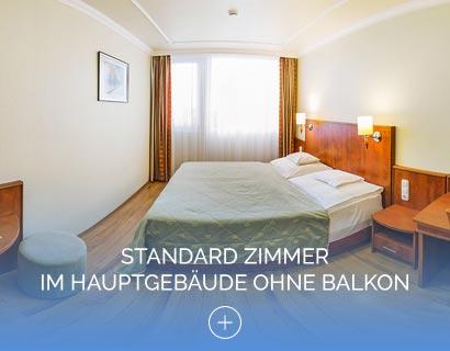 Standard Zimmer im Hauptgebäude ohne Balkon