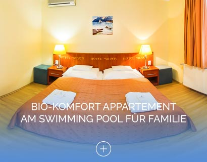 Bio-Komfort Appartement am Swimming Pool für Familie