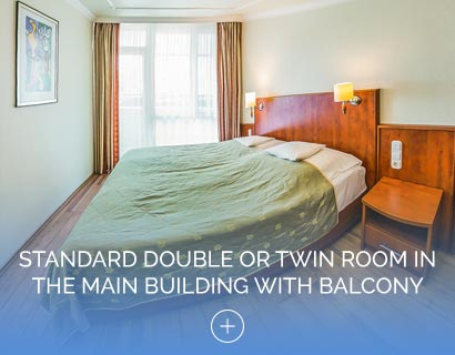 Standard Double or Twin Room in the Main Building with Balcony