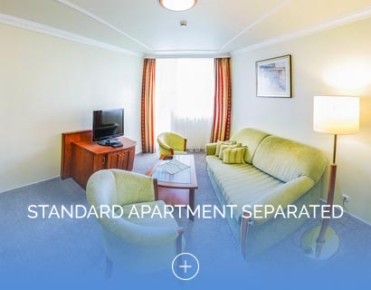 Standard apartment separated