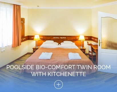 Poolside Bio-Comfort Twin Room with Kitchenette