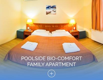 Poolside Bio-Comfort Family Apartment