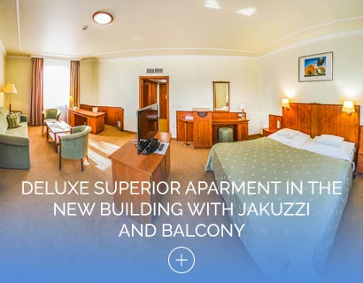 Deluxe Superior Aparment in the New Building with Jakuzzi and Balcony