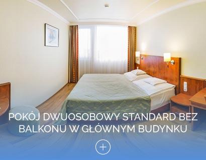Pokój dwuosobowy Standard bez balkonu w Głównym budynku