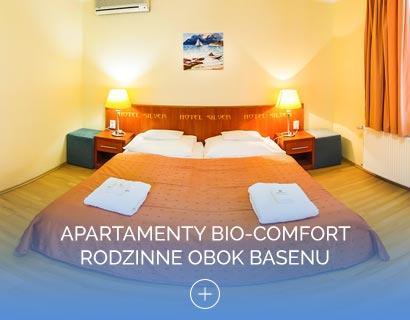 Apartamenty Bio-Comfort Rodzinne obok basenu
