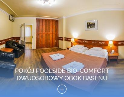 Pokój Poolside Bio-Comfort dwuosobowy obok basenu