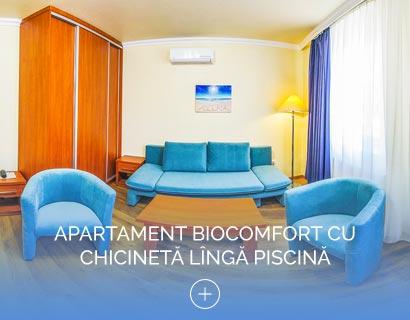 Apartament Biocomfort cu Chicinetă lîngă piscină