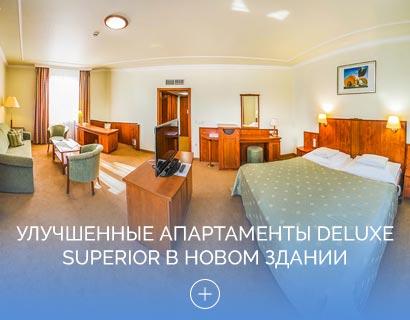 Улучшенные апартаменты Deluxe Superior в Новом здании