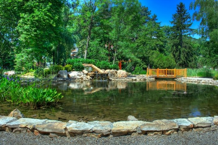 Jókai park Japán kert