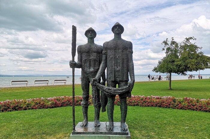 Halászok szobor