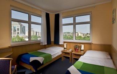 Pokoje hotelu w Budapeszcie