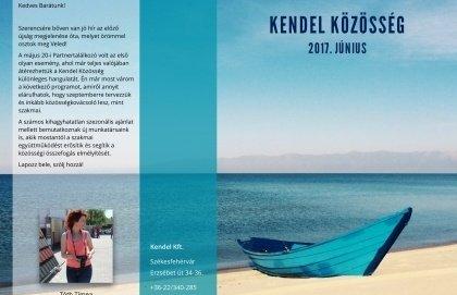 Megjelent a Kendel Közösség új, júniusi száma!