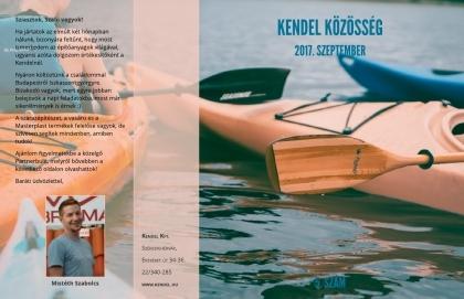 Megjelent a Kendel Közösség új, szeptemberi száma!