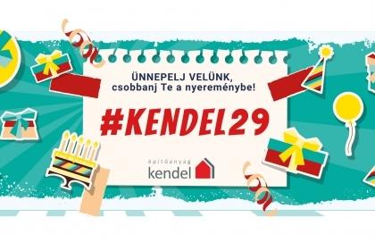 29 éves lett a Kendel, ünnepelj velünk!