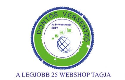 Webáruházunk az Év Webshopja verseny döntőjében!