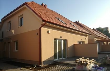 Eladó új építésű ikerházas otthon!