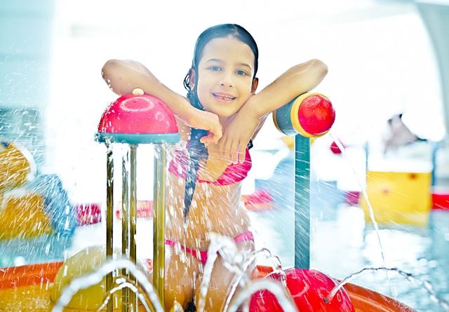 Vizes játszótér - Családi élményfürdő