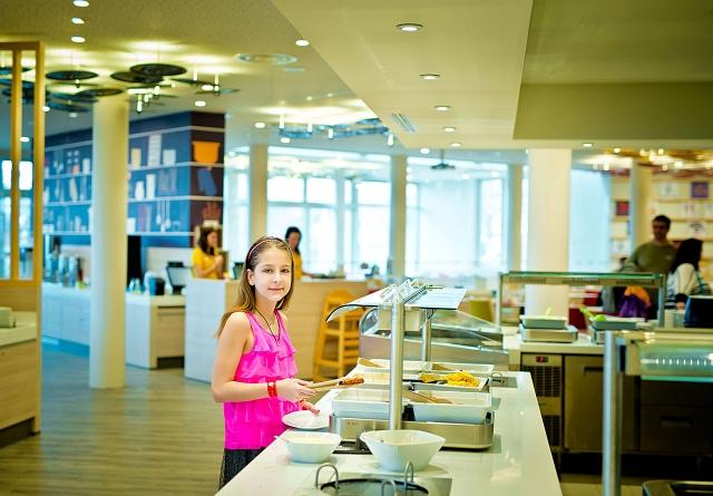 Ресторан с детским питанием