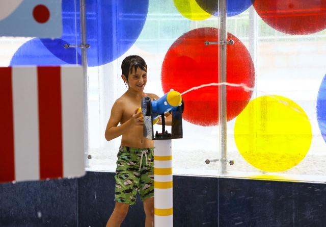 Wasserspielplatz - Familien-Erlebnisbad
