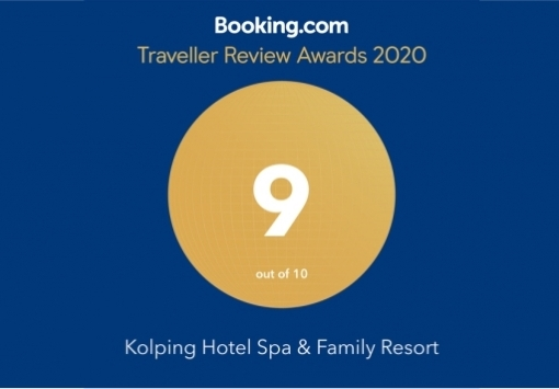 Traveller Review Awards díjat nyert a Kolping Hotel