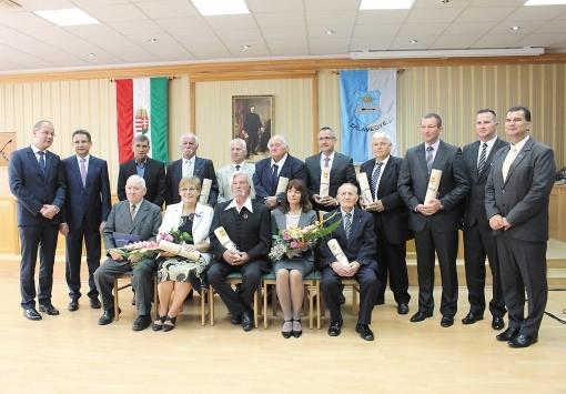 Auszeichnung von der Region Zala