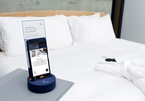 Smartphone im Zimmer