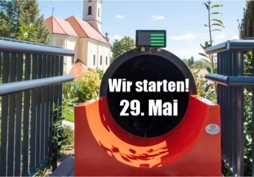 Wir öffnen wieder am 29. Mai!