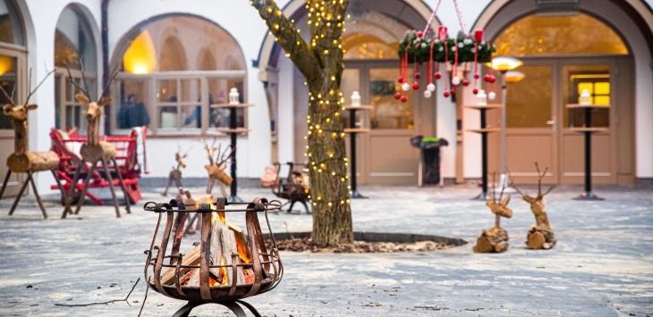Karácsonyi udvar a Kolpingban!