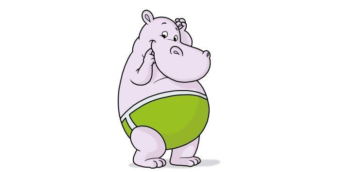 A little hippopotamus has been born!