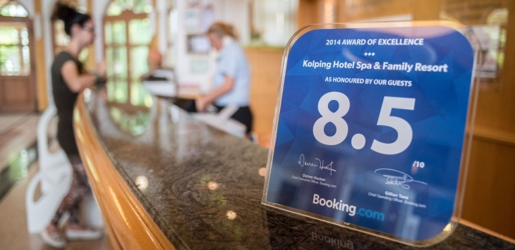 Booking.com Excellence Award - real reviews from real guests!