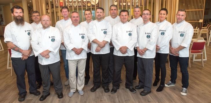 13 шеф-поваров, 13 столов, 13 октября.