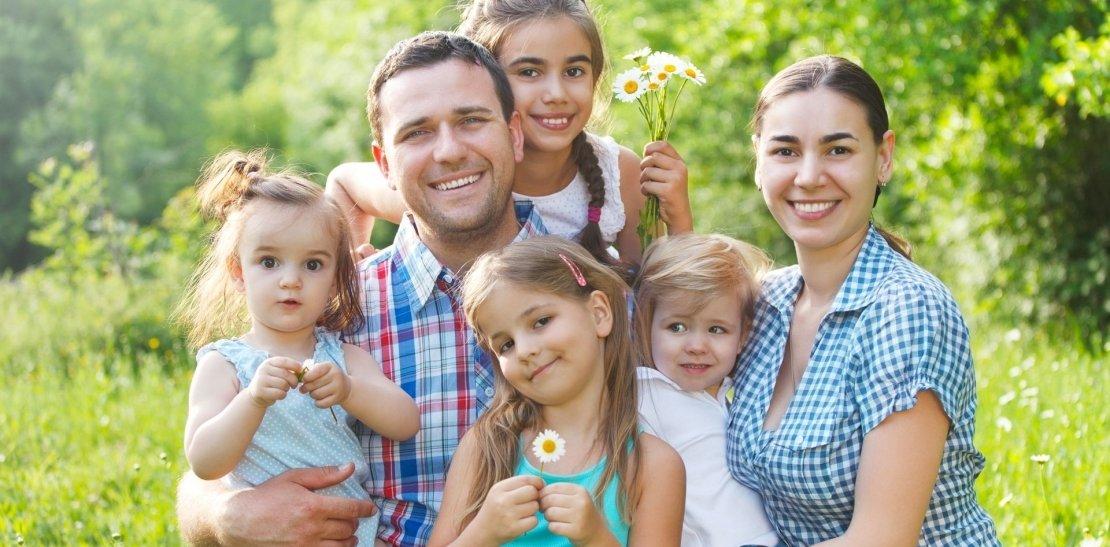 Акция для большой семьи