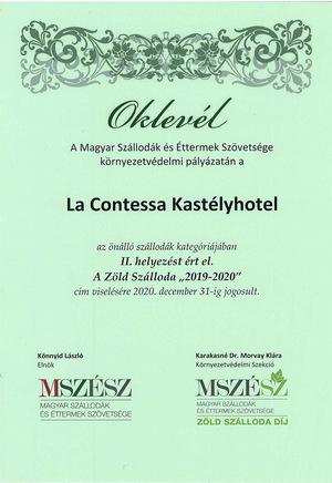 Zöld szálloda