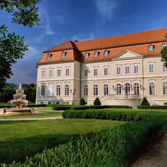 Frühling im Schloss