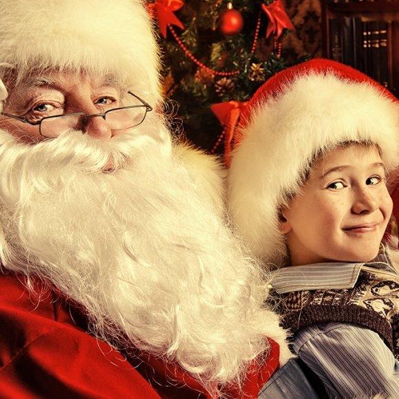 Santa Claus Magic Show in the Castle