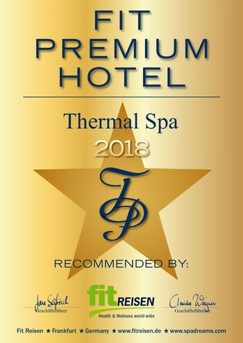 Thermal Spa Fit Premium Hotels 2018