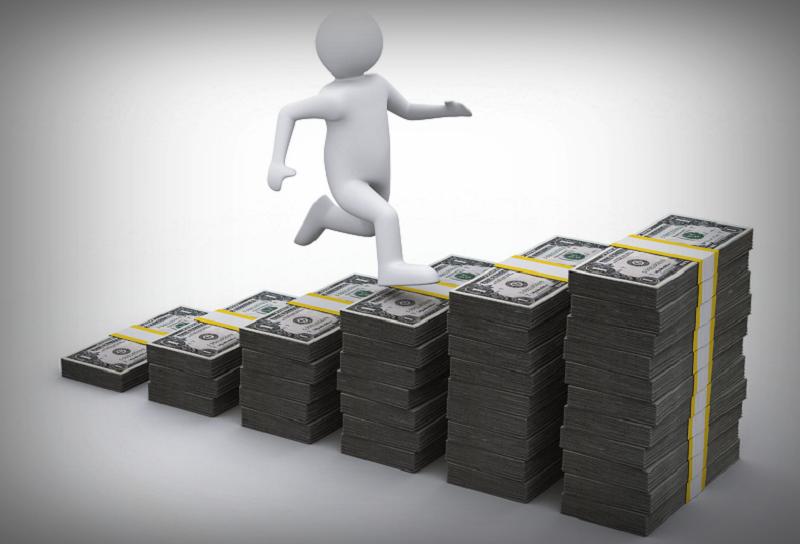 Döntések a pénzügyi lehetőségek lépcsőjén.