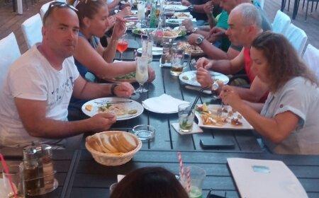 Vacsora Hotel Koral Medulin