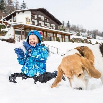 Kutyahideg van! A hó élmény mindenkinek!