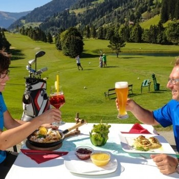 Restaurant on the golf-course