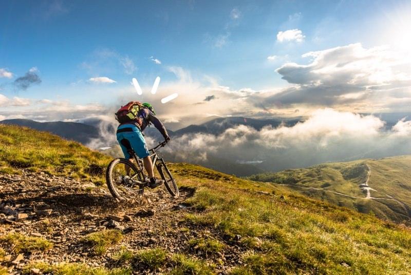 Flow Country hegyi kerékpár út Bad Kleinkirchheimben