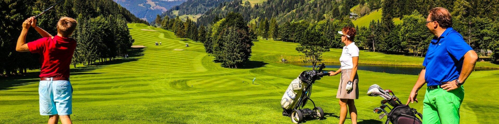 Golf-Genuss in den Nockbergen 1 Greenfee