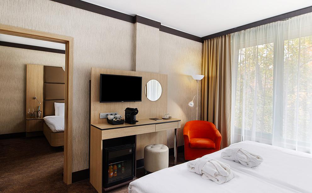 Összenyitható Deluxe szoba