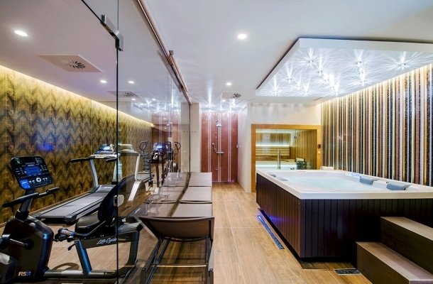 Relax room & fitness